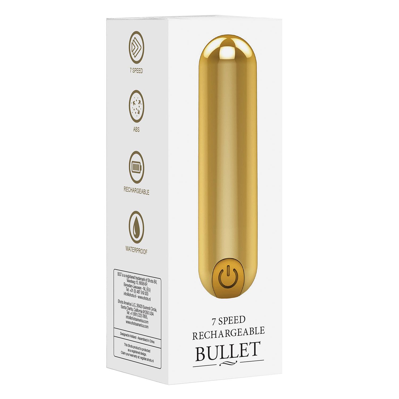 Bullet Recarregável 10 Velocidades