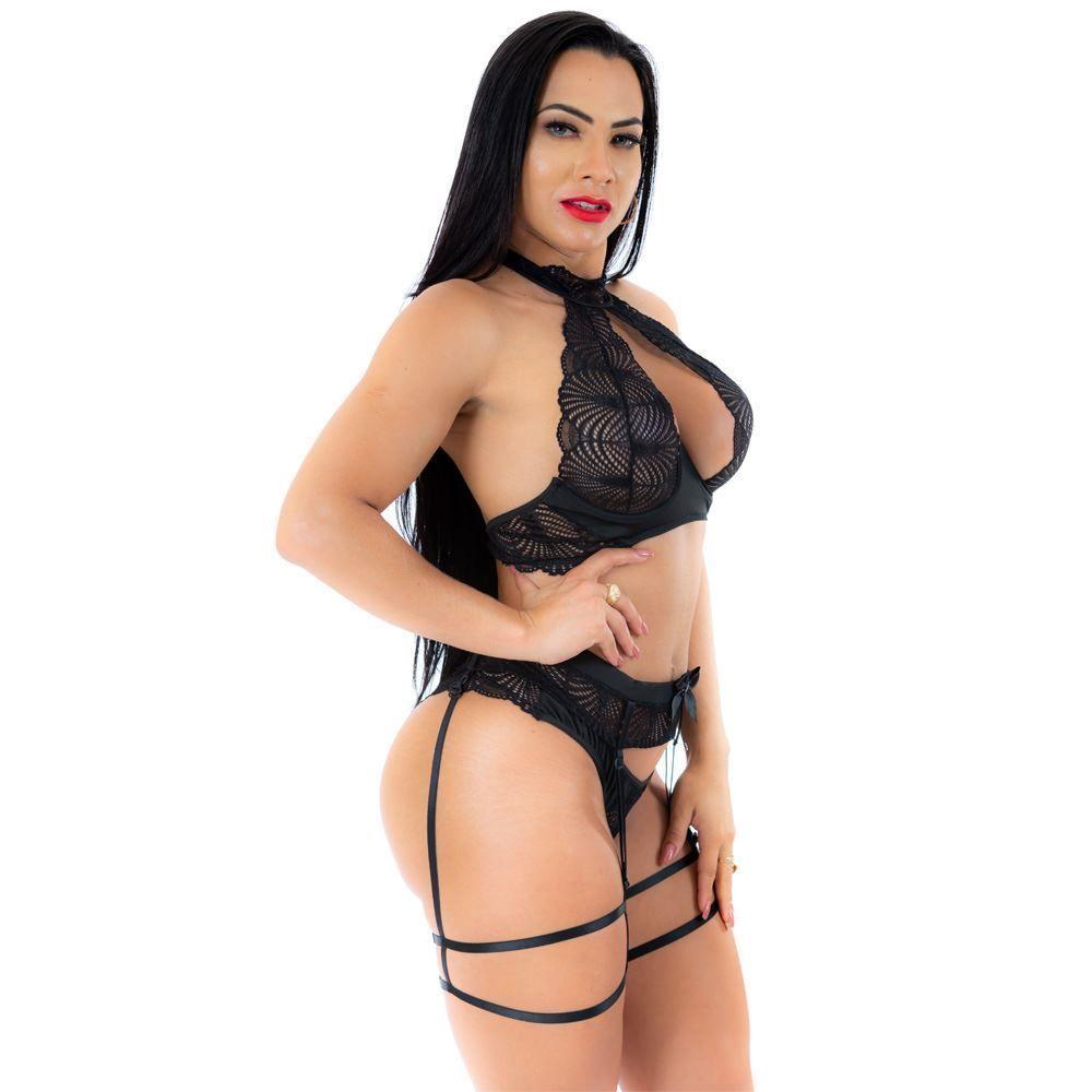 Conjunto Dama Sexy Pimenta