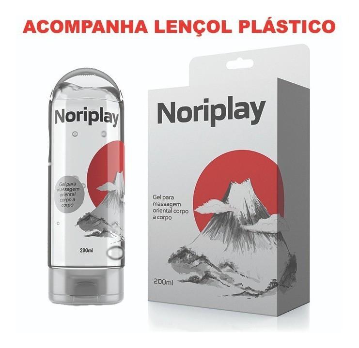 Gel para massagem corporal noriplay