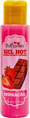 Gel comestível hot/ice