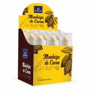 Manteiga de Cacau - 3g - Cartonagem 12 unidades