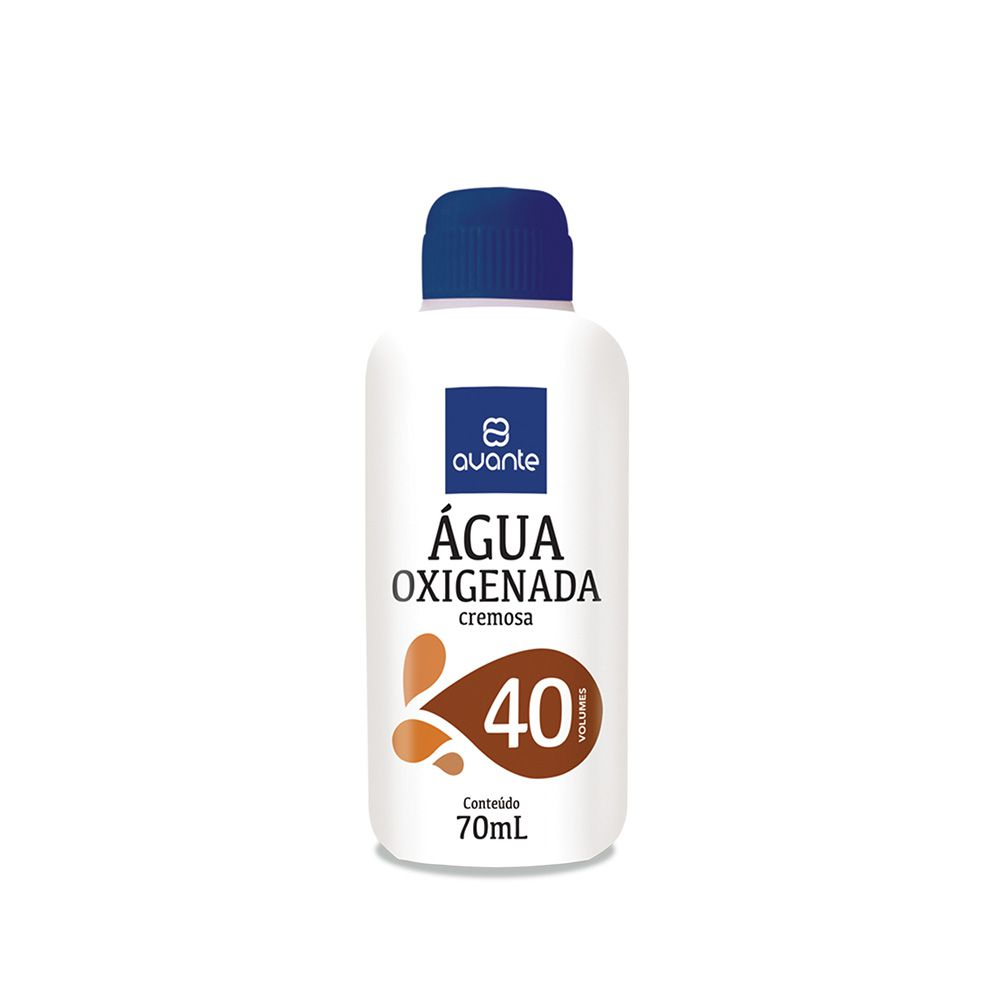 Água Oxigenada Cremosa – 40 Vol. 70mL