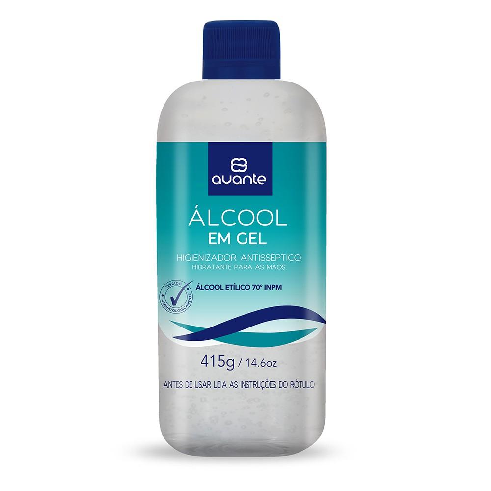 Álcool em Gel 415g Refil