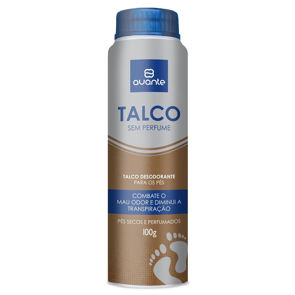 Avante Talco Sem Perfume 100g