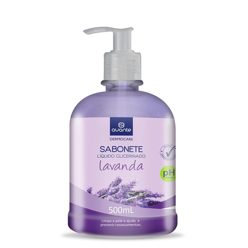 Sabonete Líquido Glicerinado Lavanda – 500mL