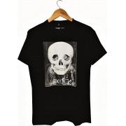 Camiseta Lexloci Fake Skull