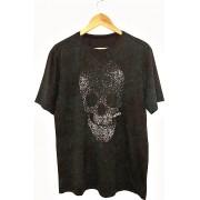Camiseta Lexloci Skulldestonated verde
