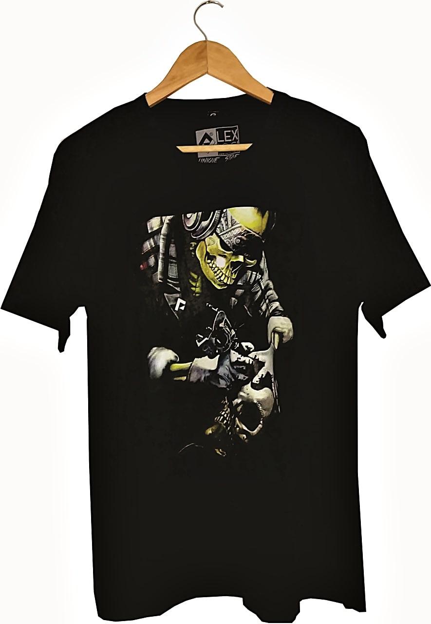 Camiseta Lexloci SkullTattoo
