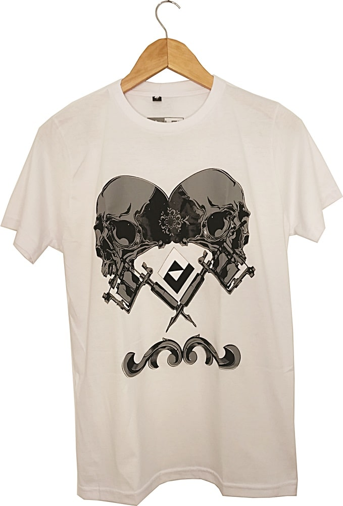 Camiseta Lexloci Tattoo Skull