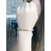Bracelete Cravejado com Zircônia Banhado em Ouro 18K