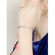 Bracelete Riviera Colorido banhado em Ouro 18K