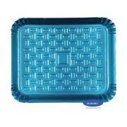 Bandeja Azul 23x19cm - Pacote com 10 unidades