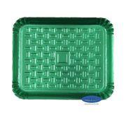 Bandeja Verde 23x19cm - Pacote com 10 unidades