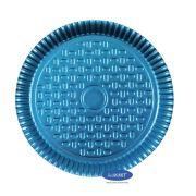 Prato Azul 19,1cm - Pacote com 10 unidades