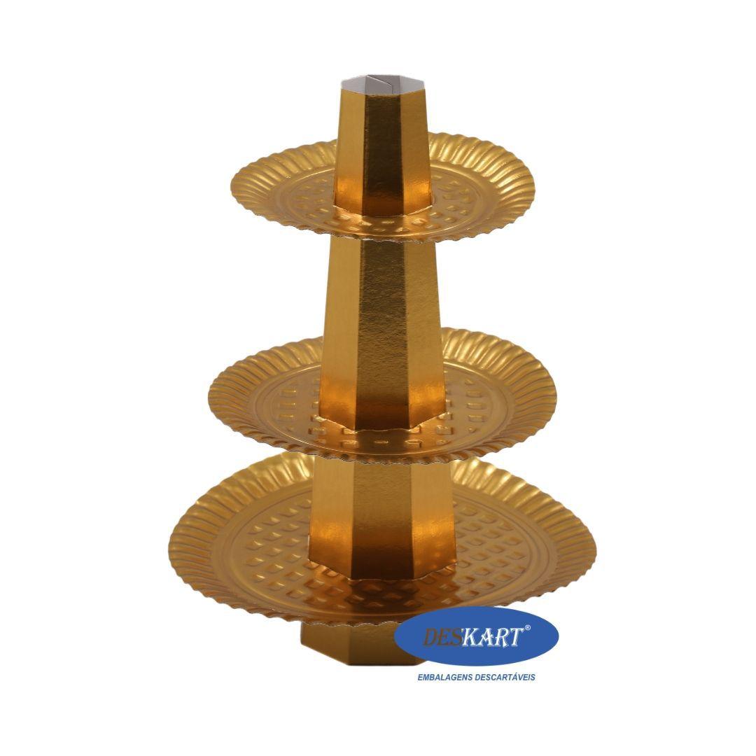 Baleiro Dourado - Pacote com 1 unidade