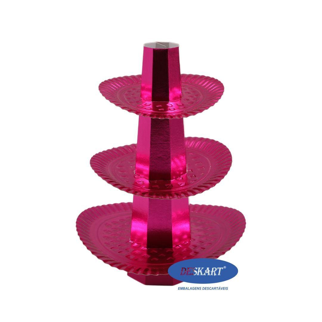 Baleiro Rosa - Pacote com 1 unidade
