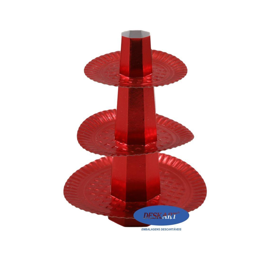 Baleiro Vermelho - Pacote com 1 unidade