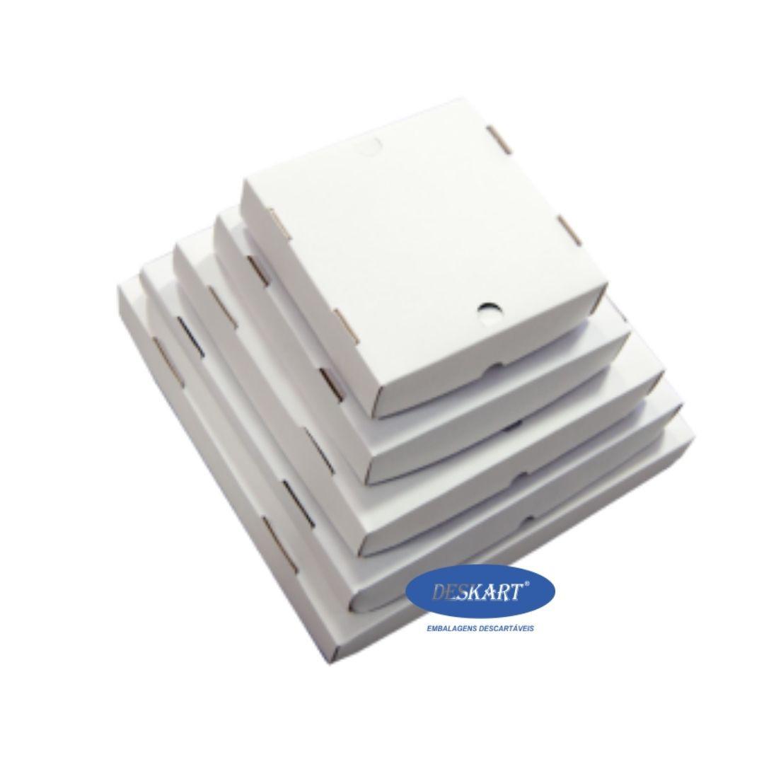 Caixa para doces e salgados BRANCA 30x30x5 - Pacote com 25 unidades