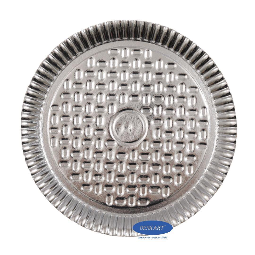 Prato Laminado 22,0cm - Pacote com 10 unidades