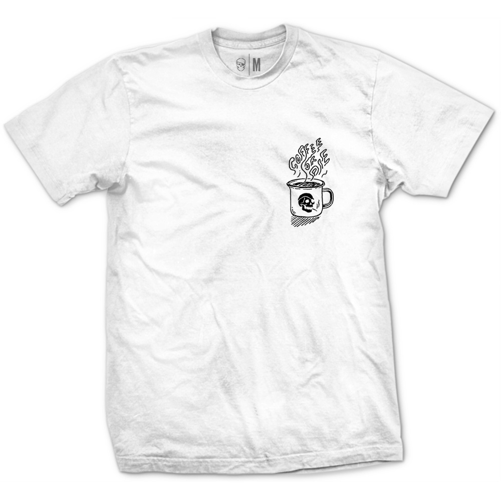 Camiseta Coffee or Die