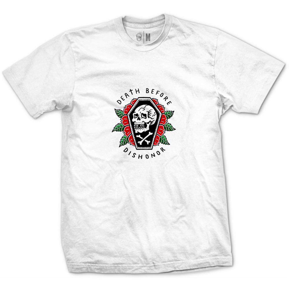 Camiseta Death Before Dishonor