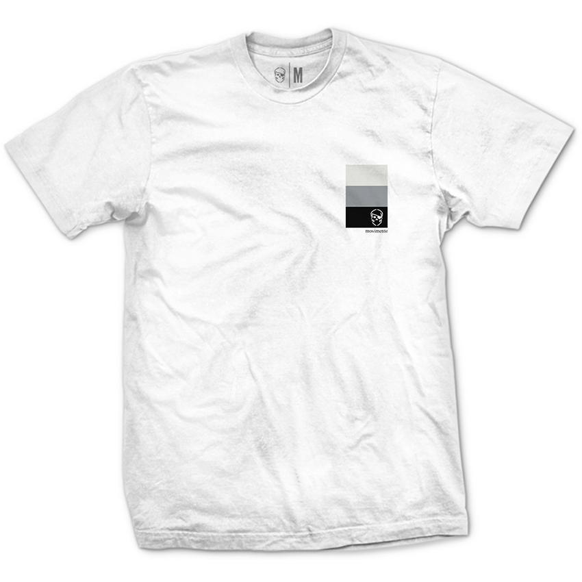Camiseta Movimento Tons de Cinza