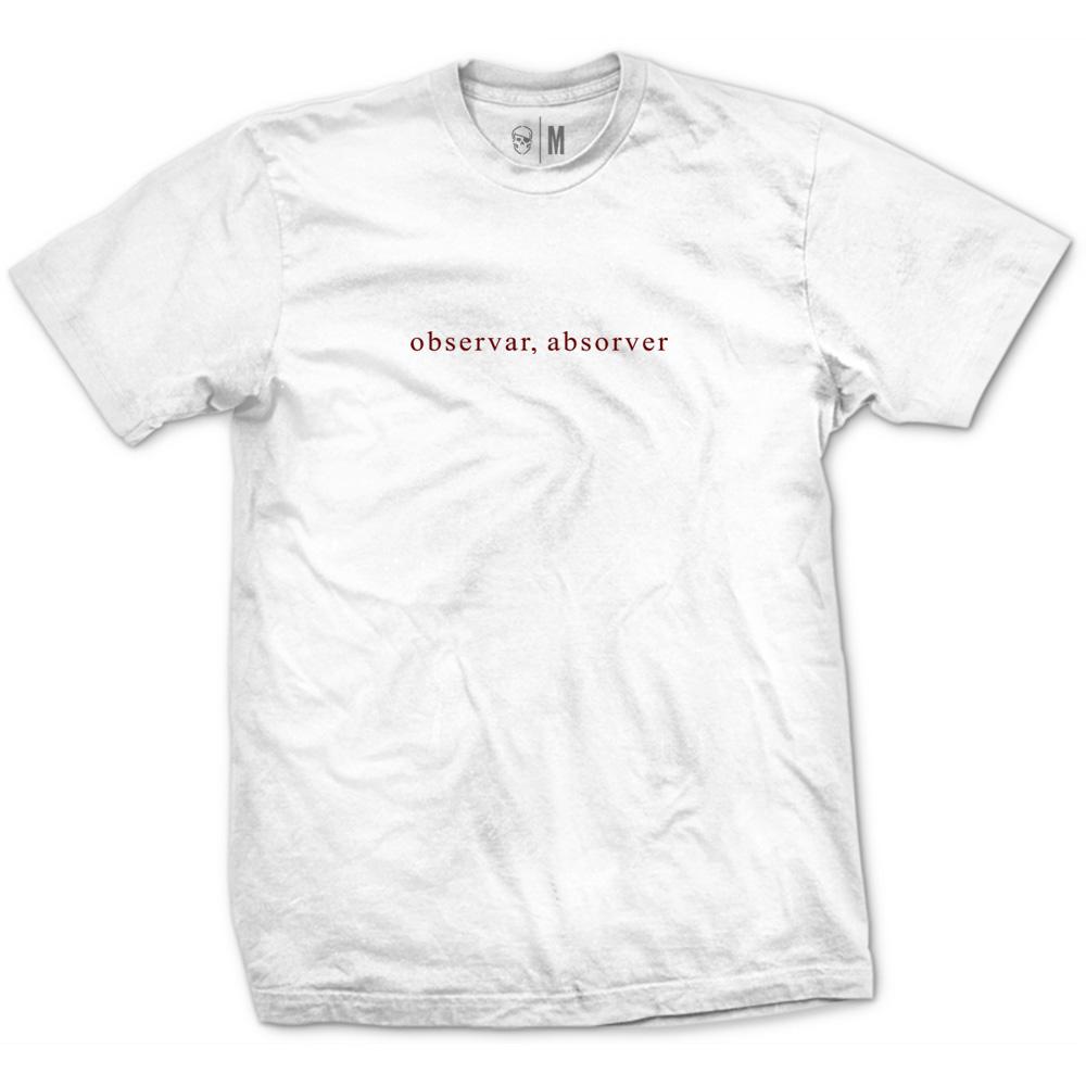Camiseta Observar, Absorver