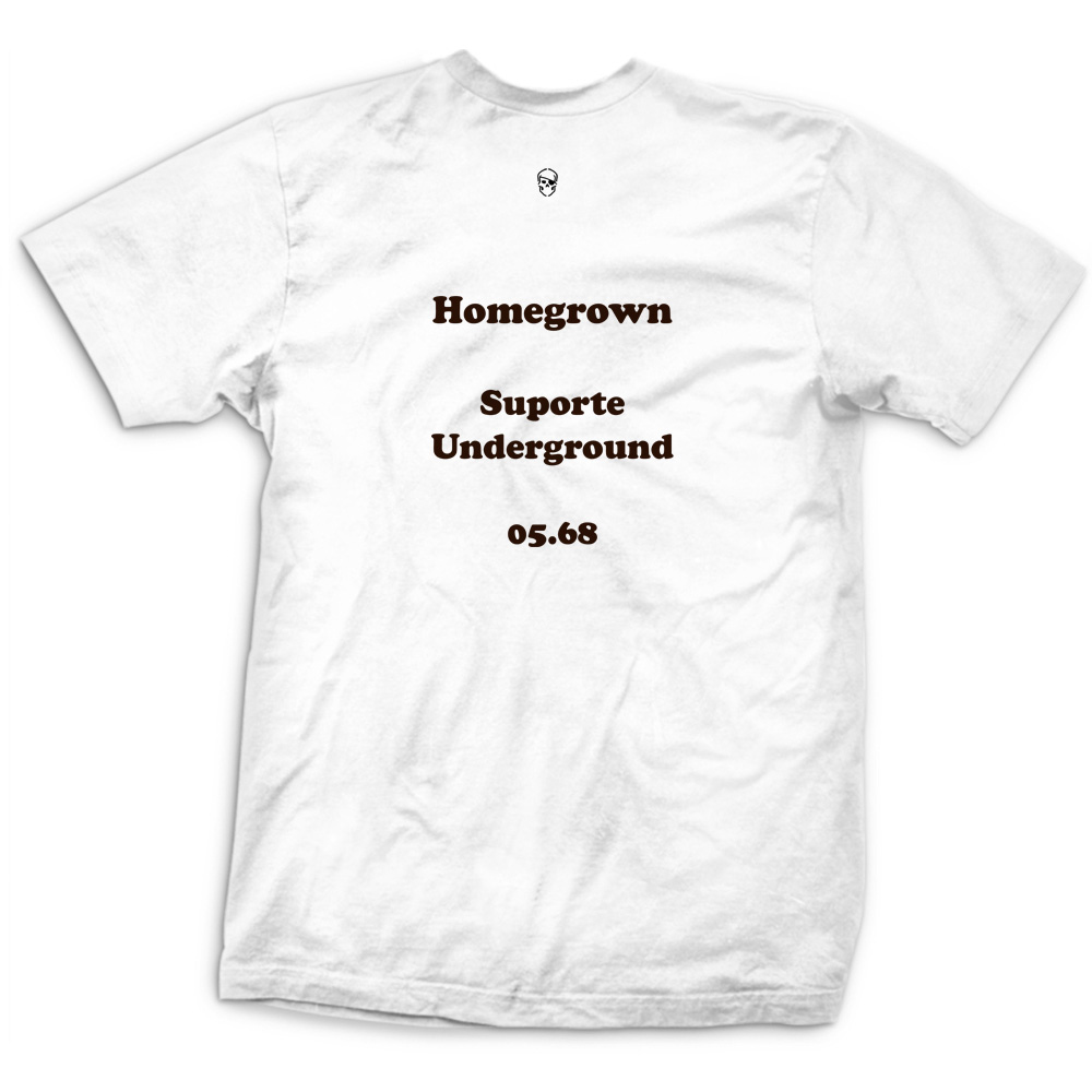 Camiseta Retrô Letters