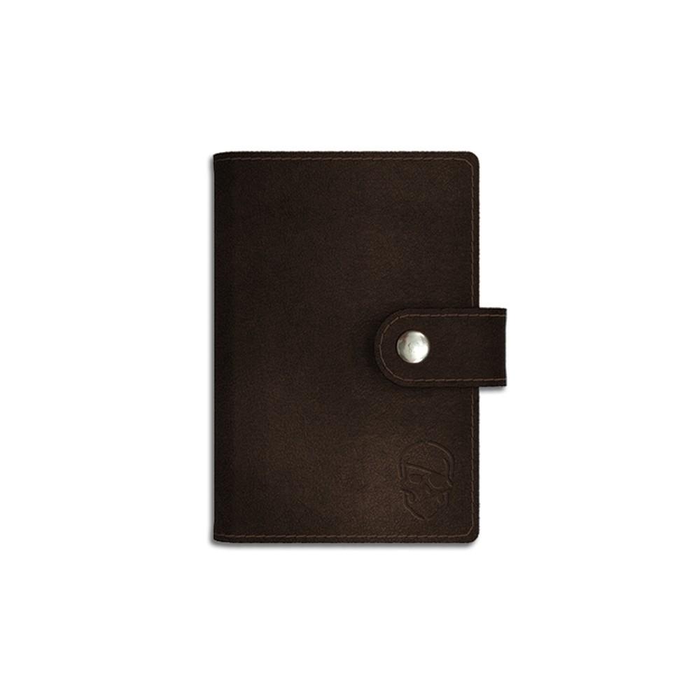 Porta Cartão - Marrom