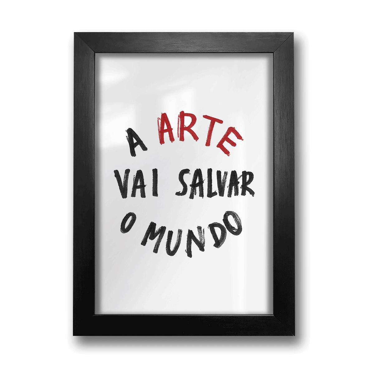 Quadro A4 - Arte Salva