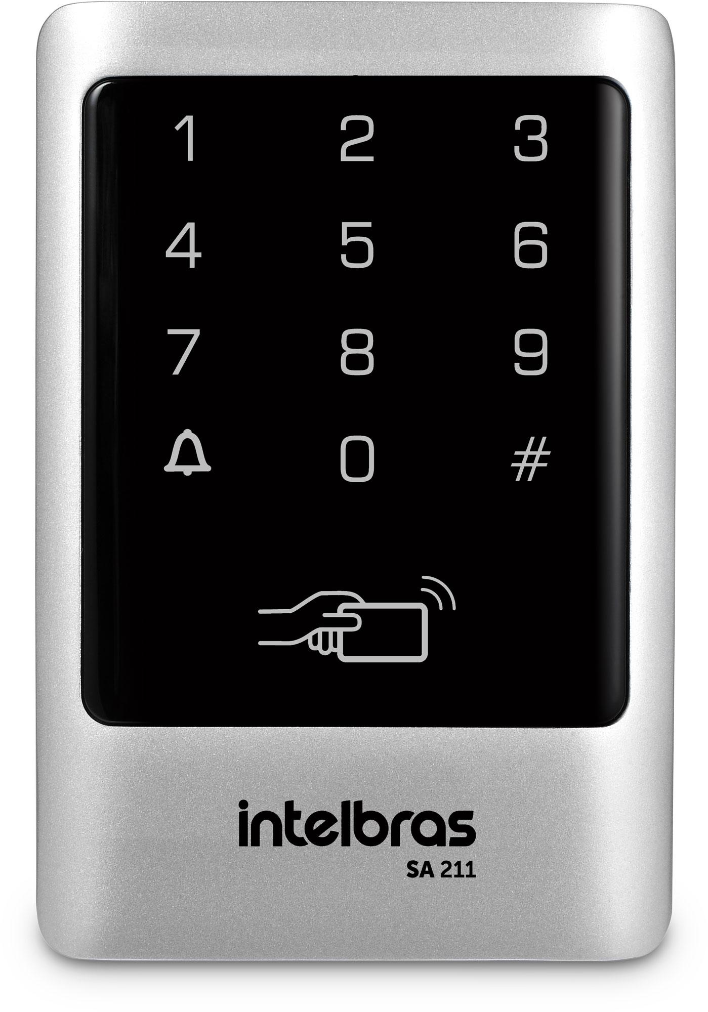 Controlador de acesso 125kHz SA 211 Intelbras