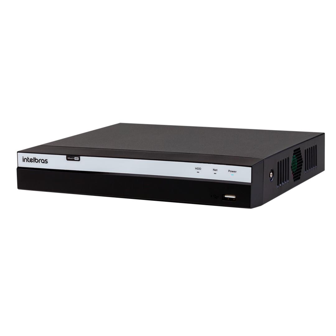DVR 16 Canais Full HD 1080p Gravador digital de vídeo com HD WD Purple 4TB Intelbras MHDX 3116