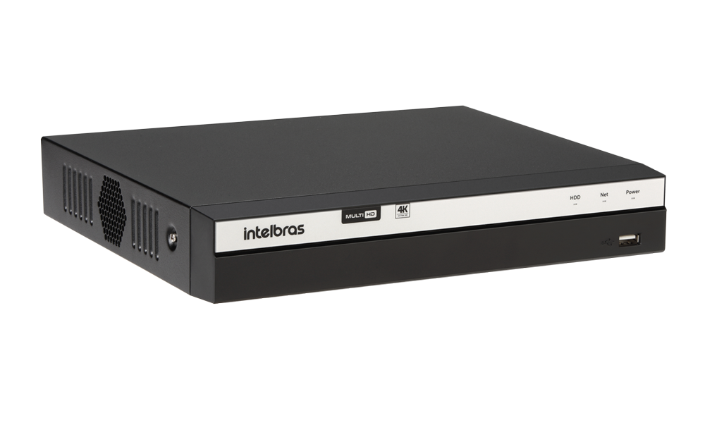 DVR Gravador de Vídeo 04 Canais Full HD 1080p  - 4MP Lite com HD WD Purple 1TB MHDX 3104 Intelbras