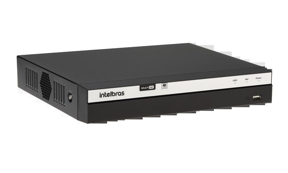 DVR Gravador de Vídeo 04 Canais Full HD 1080p  - 4MP Lite com HD WD Purple 2TB MHDX 3104 Intelbras