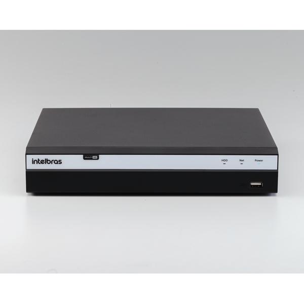 DVR Gravador de Vídeo 08 Canais Full HD 1080p - 4MP Lite com HD WD Purple 1TB MHDX 3108 Intelbras