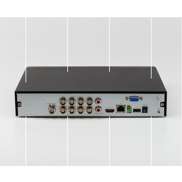 DVR Gravador de Vídeo 08 Canais Full HD 1080p  - 4MP Lite MHDX 3108 Intelbras