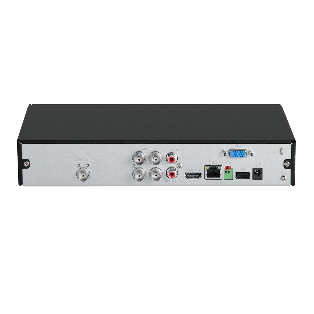 DVR Gravador de Vídeo 4 Canais HD 720p - 1080p Lite MHDX 1104 com HD 1TB Embarcado Intelbras