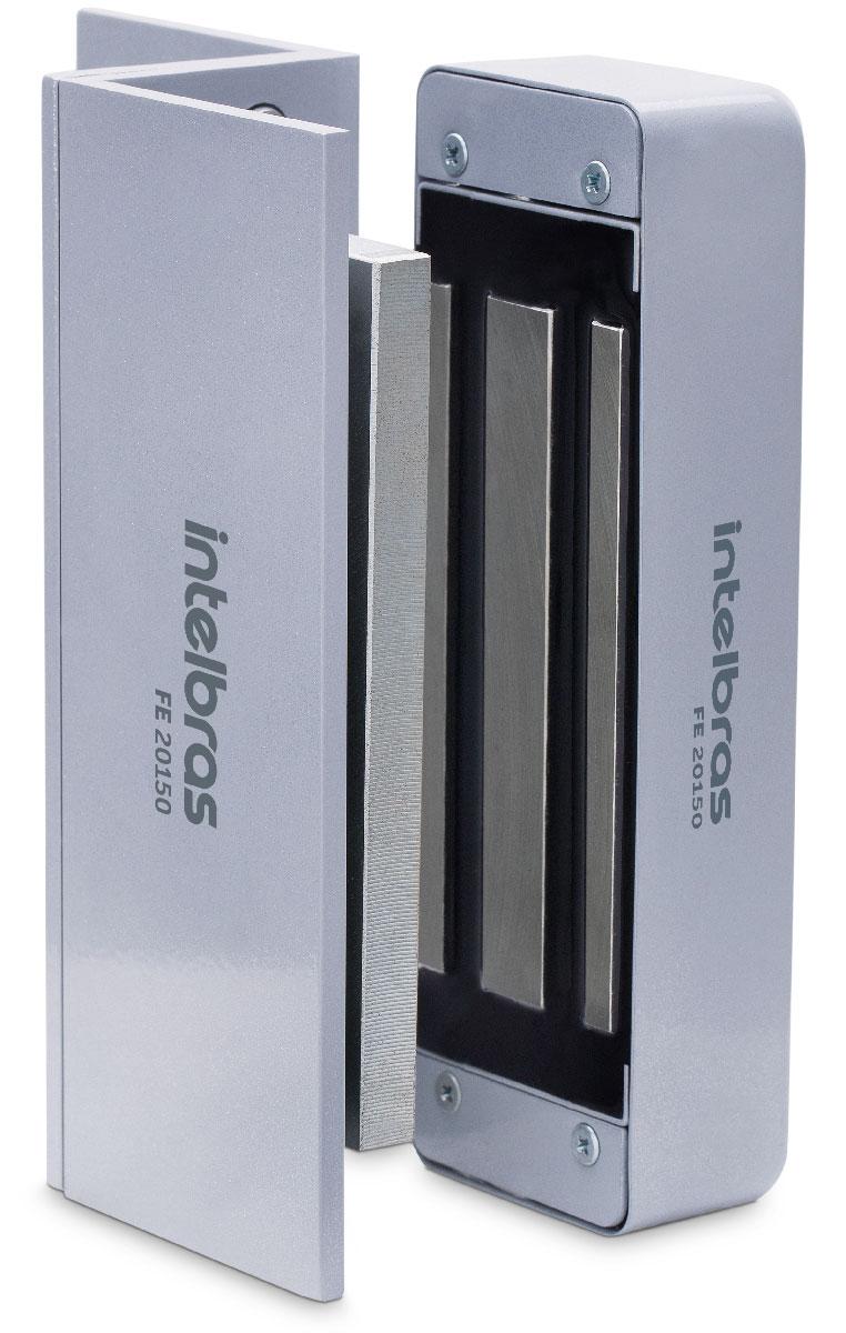 Fechadura eletroímã 150 kgf universal FE 20150 Intelbras Sem Sensor