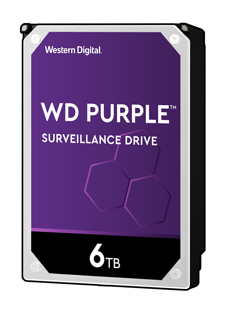 HD de Armazenamento para CFTV 6TB WD Purple