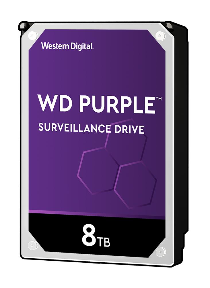 HD de Armazenamento para CFTV 8TB WD Purple