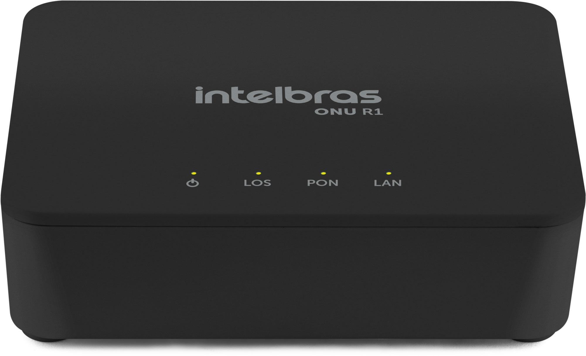 Modem Óptico PON LAN 1P ONU R1 Intelbras