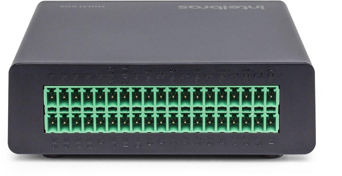 Módulo de Entradas e Saídas para DVRS MULTI-BOX Intelbras