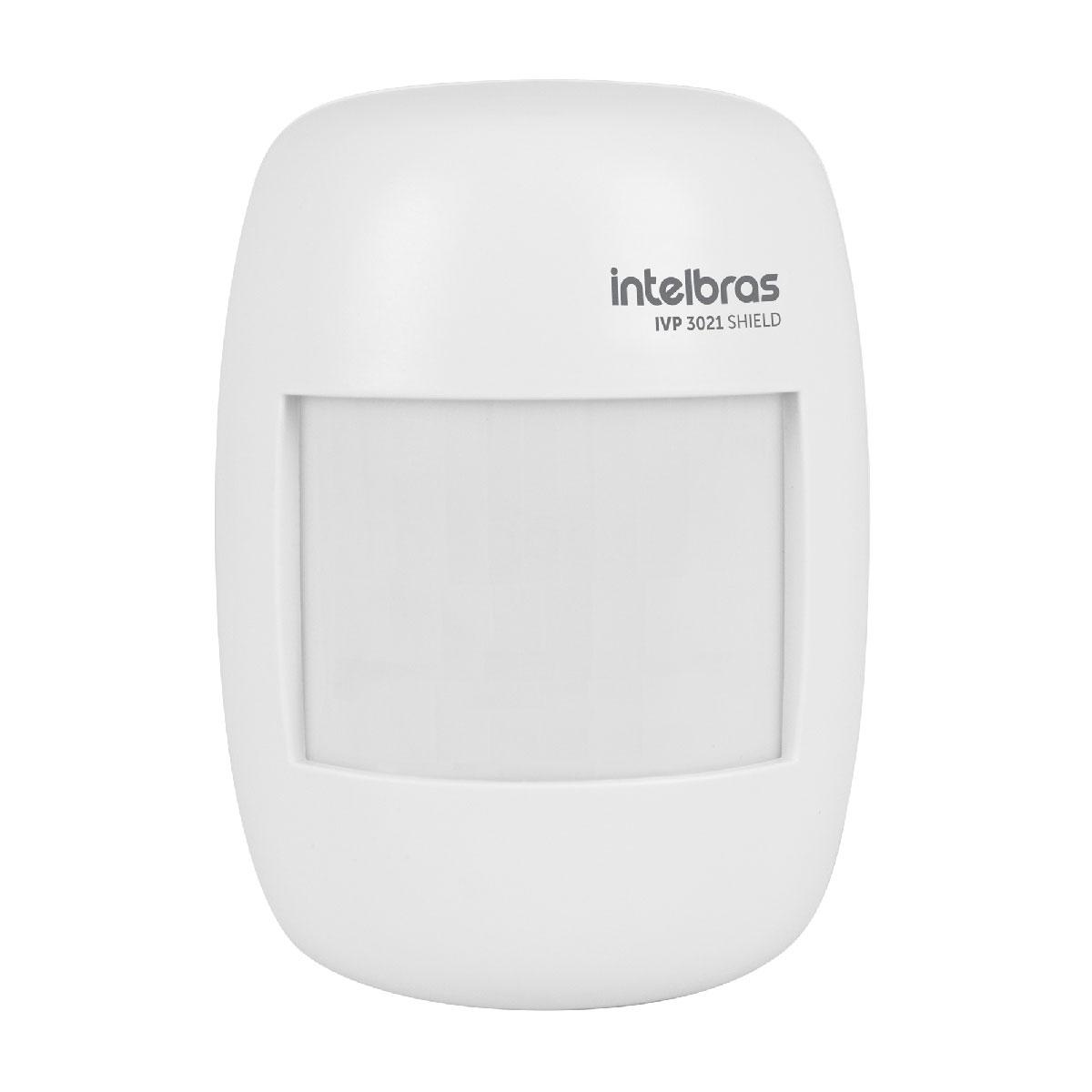 Sensor Infravermelho Passivo IVP 3021 SHIELD Intelbras