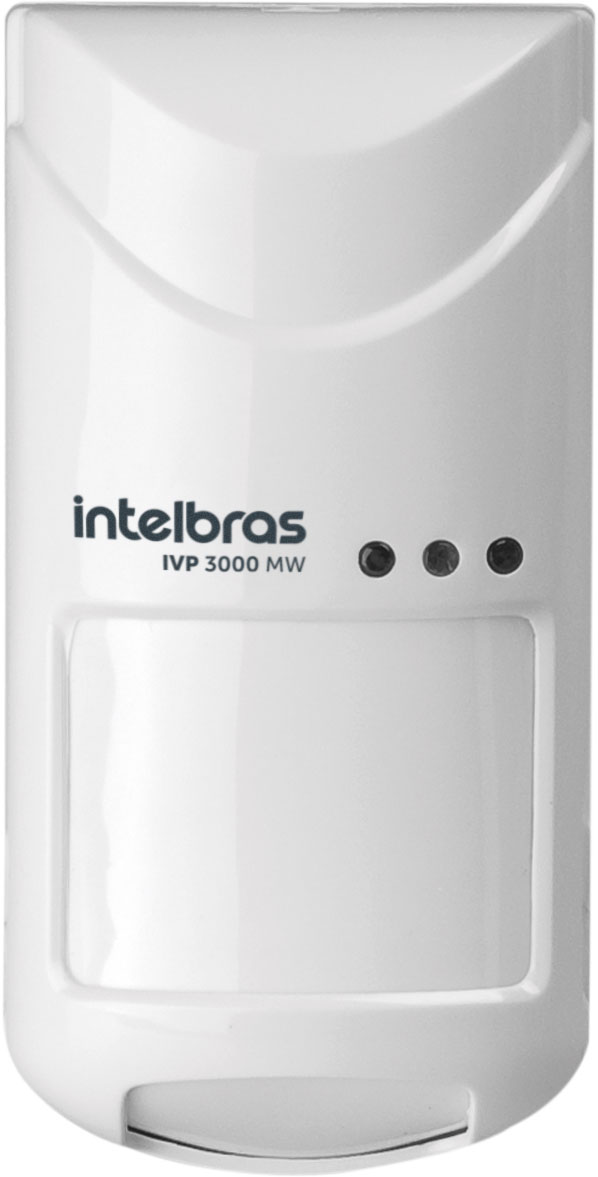 Sensor micro-ondas ajustável IVP 3000 MW Intelbras