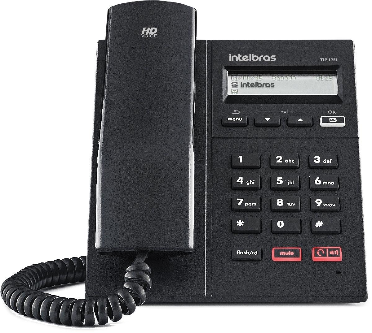 Telefone IP Terminal TIP 125i Intelbras