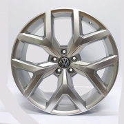 JOGO DE RODA KRMAI S07 (VW AMAROK) ARO 22X9 PRATA 5X120ET 45