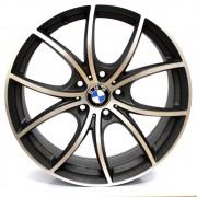 JOGO DE RODAS BMW 550 GT ARO 19X9 GRAFITE DIAMANTADA 5X120 ET 37