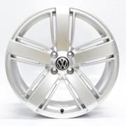JOGO DE RODAS VW AMAROK ARO 20X8,5 PRATA 5X120 ET 45 USADAS