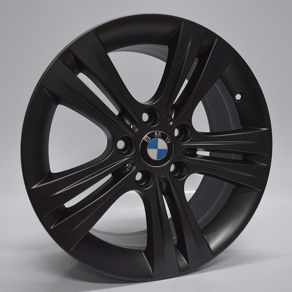 JOGO DE RODAS ORIGINAIS BMW 320 207 SPORT GP ARO 17X7,5 GRAFITE 5X120  ET 37 USADAS