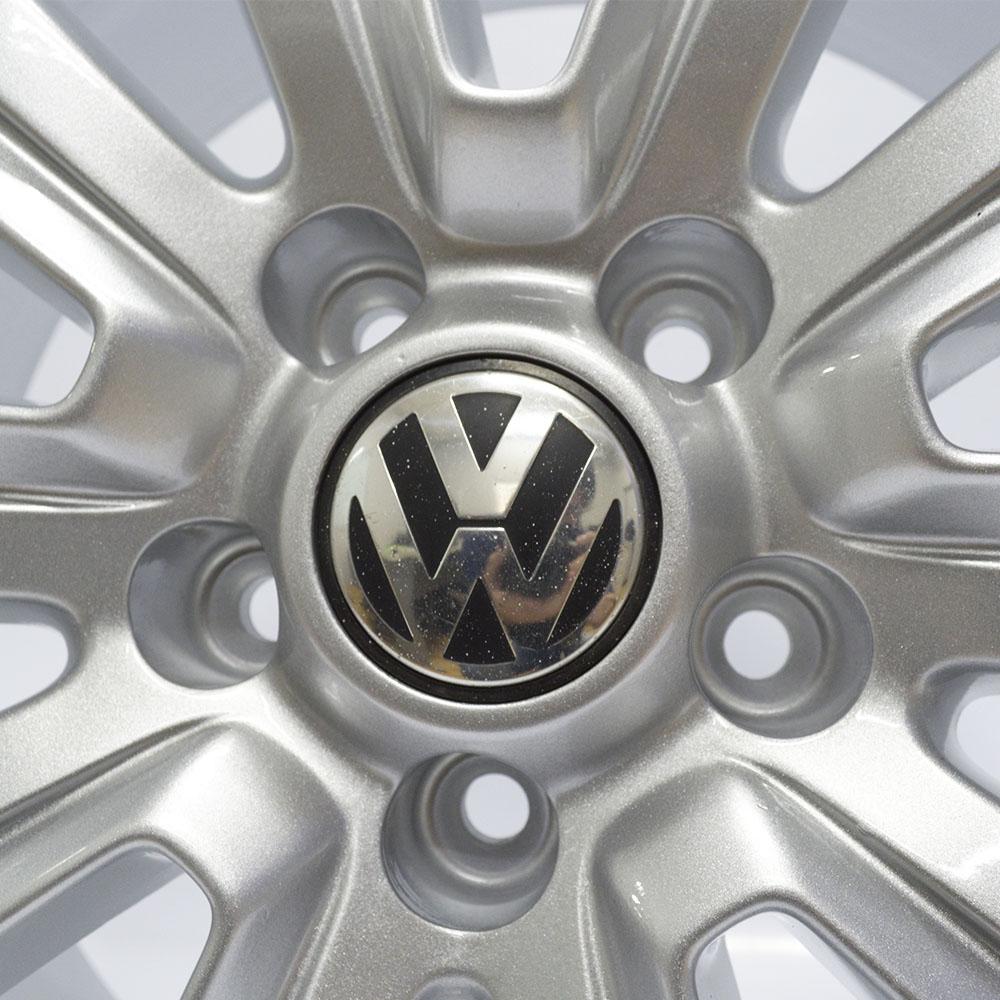 JOGO DE RODAS ORIGINAIS VW AMAROK ARO 18X7,5 GRAFITE 5X120 ET 45 USADAS